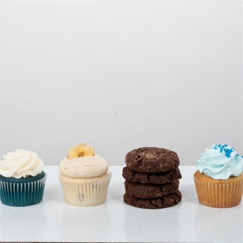 feature flavors: elvis tribute cupcakes & cookies