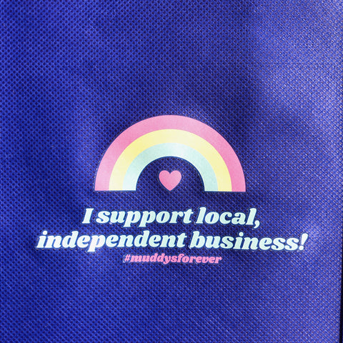 """Support Local"" Tote Bag"