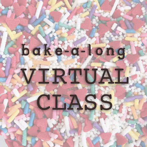 Bake-a-long Virtual Class