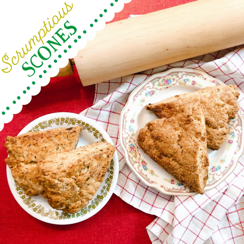 Bake-a-long Virtual Class: Scrumptious Scones