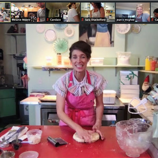 Bake-a-long Virtual Class: Raspberry Swirl Blondies