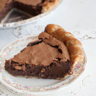 Cocoa Crackle Pie