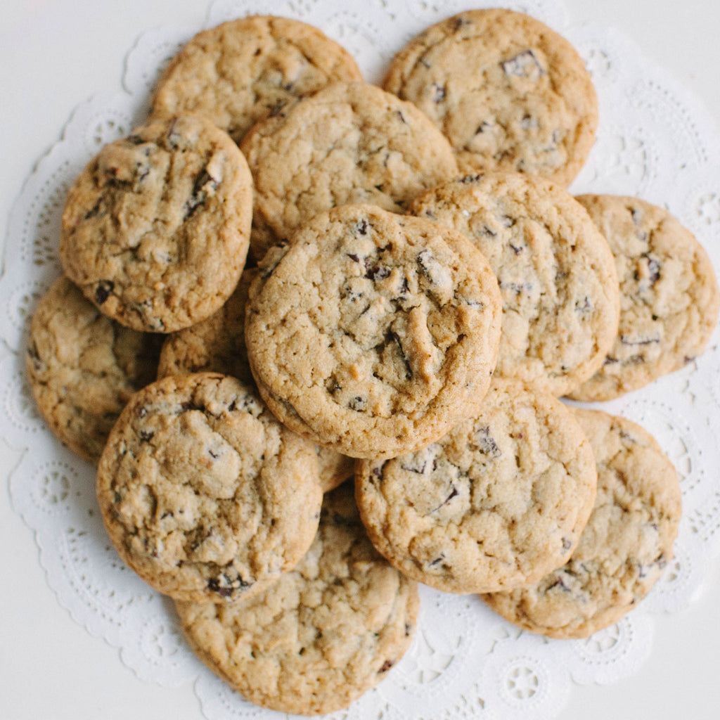 Deluxe Chocolate Chip Cookies | Muddy's Bake Shop