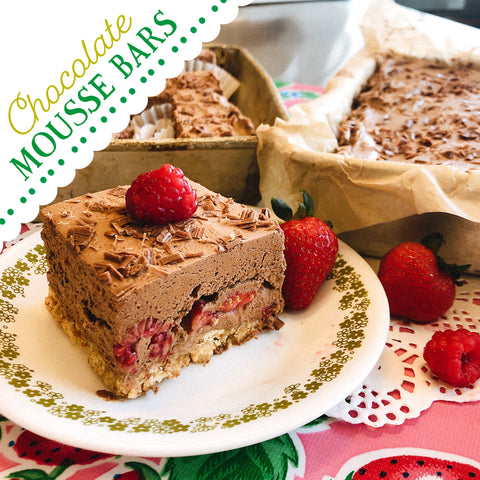 Bake-a-long Virtual Class: Chocolate Mousse Bars