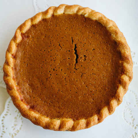 Pumpkin Five Spice Pie