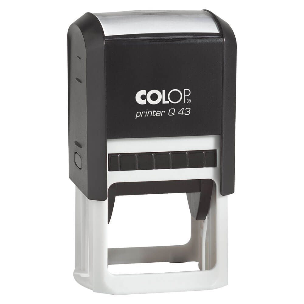 COLOP Q43 Printer  Self-Inking Rubber Stamp