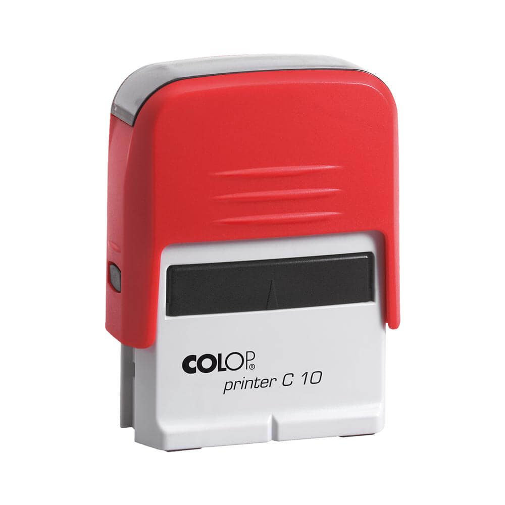 Colop C10 Self-Inking Rubber Stamp (Compact Line)