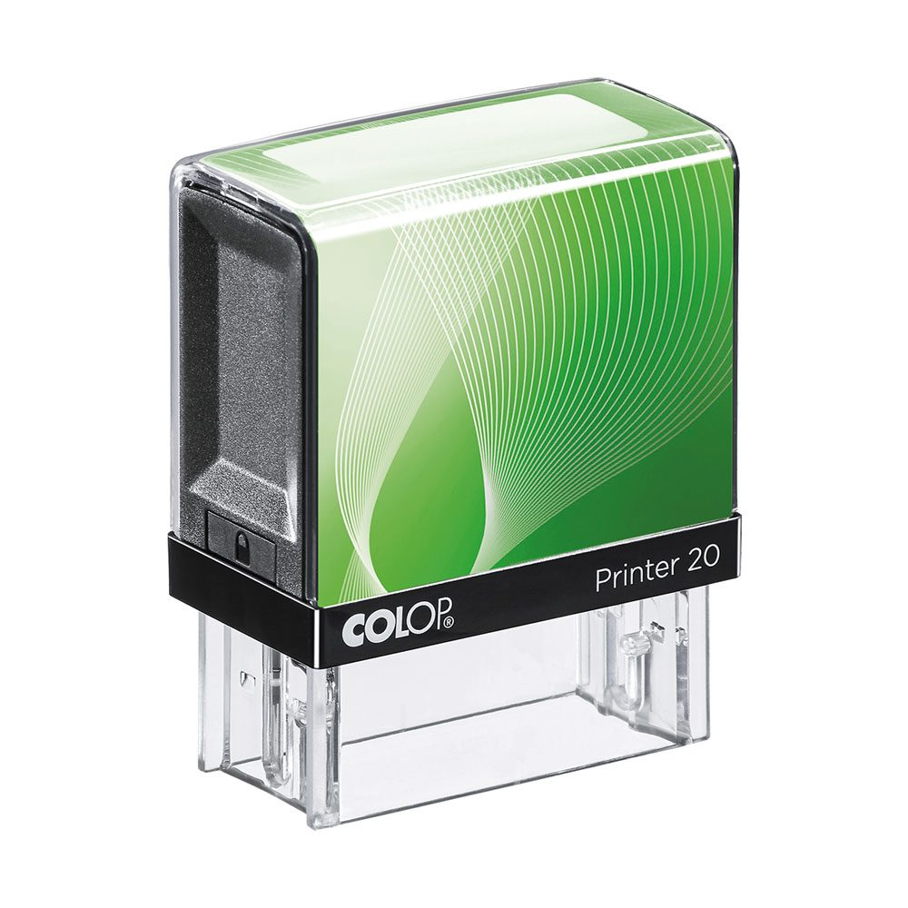 Colop 20 Self-Inking Rubber Stamp