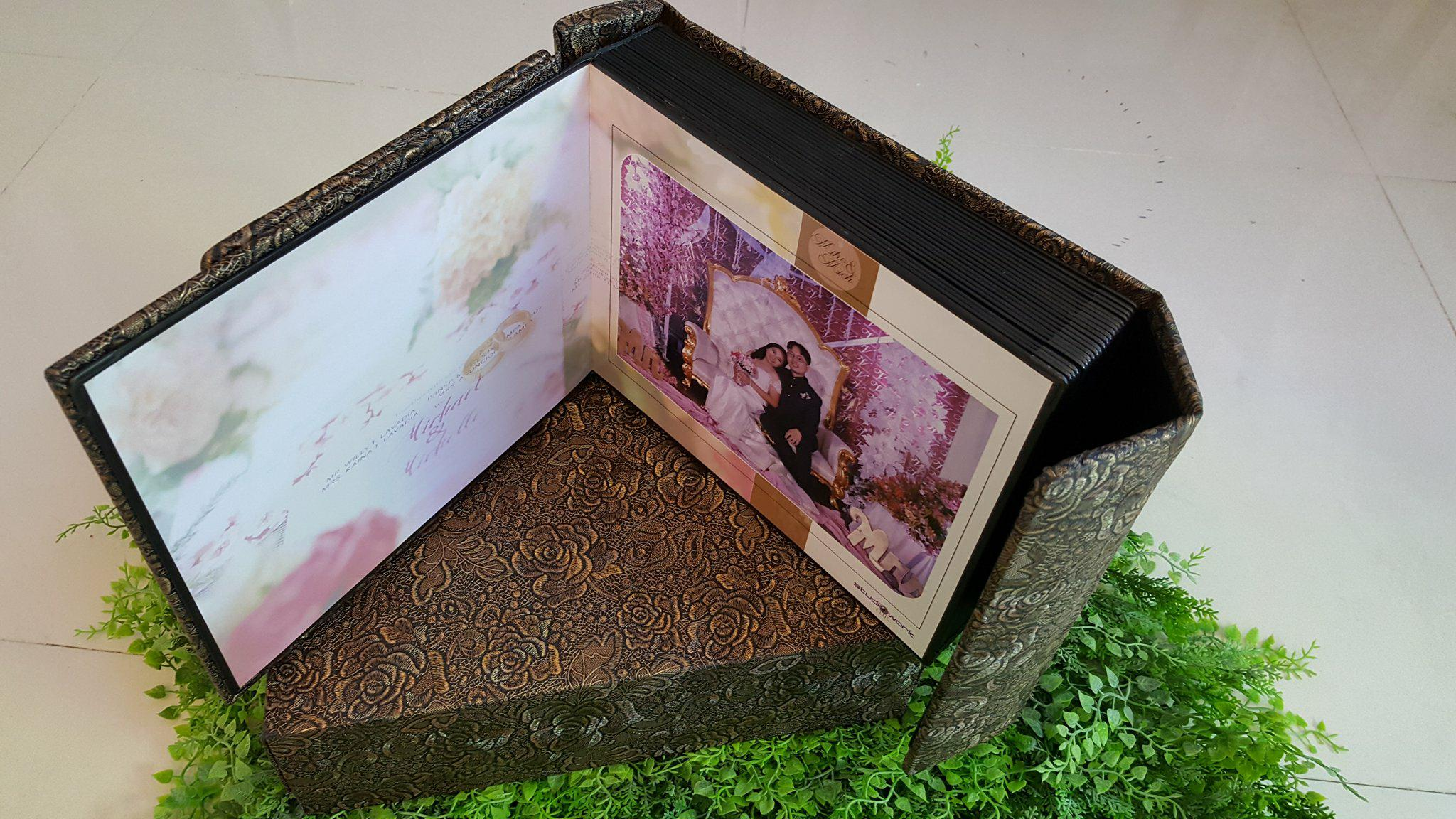 Grand Elite Package 11X14 Wedding  Album | Video Art Film Package