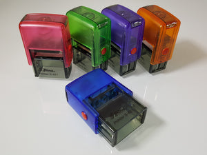 Shiny S-821 Self Inking Rubber Stamp Shiny Printer