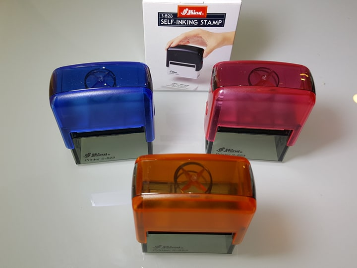 Shiny S-823 Self Inking Rubber Stamp Printer