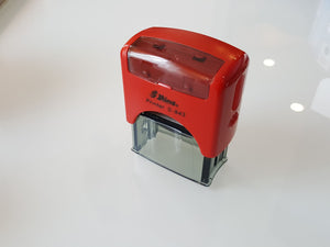 Shiny S-843  Self-Inking Rubber Stamp