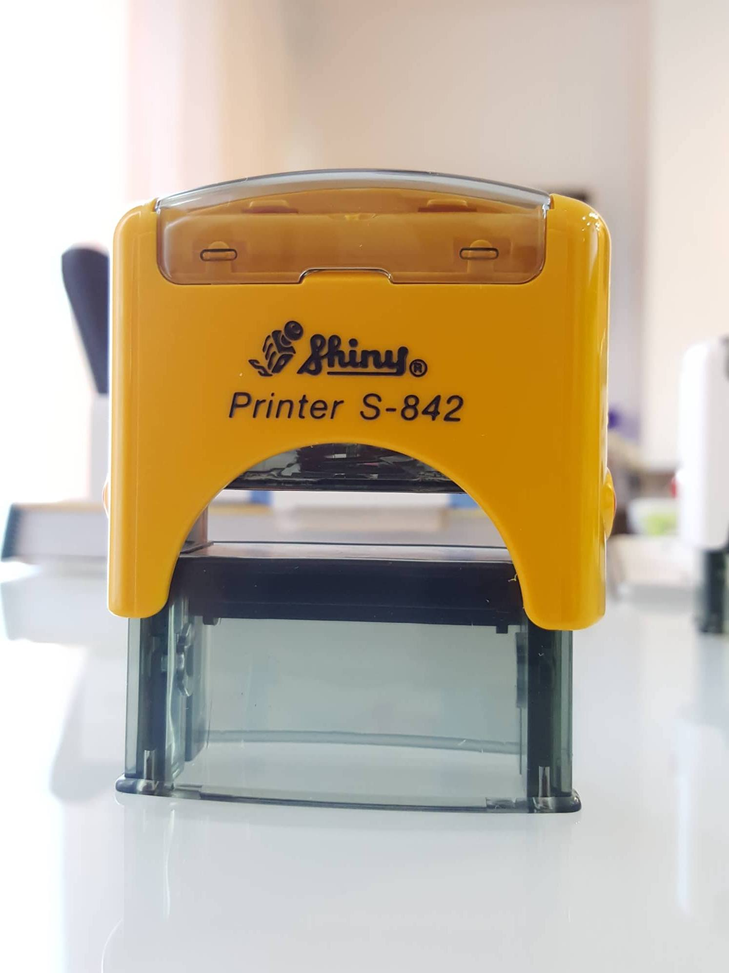 Shiny S-842 Self-Inking Rubber Stamp