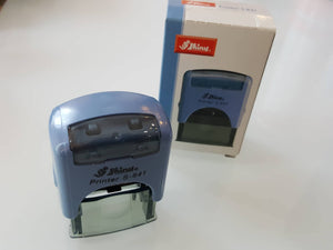 Shiny S-841 Self-inking Rubber Stamp Printer
