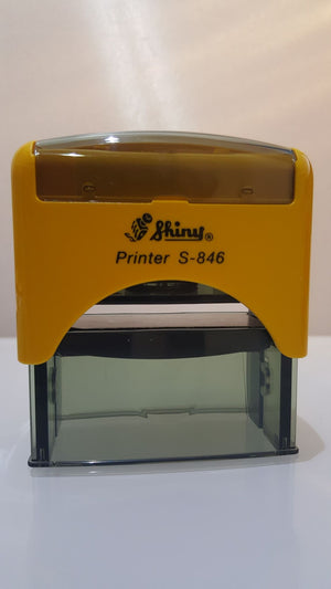 Shiny S-846 Printer Self Inking Rubber Stamp