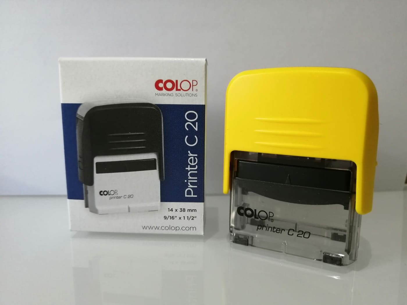 Colop C20 Self-Inking Rubber Stamp (Compact Line)