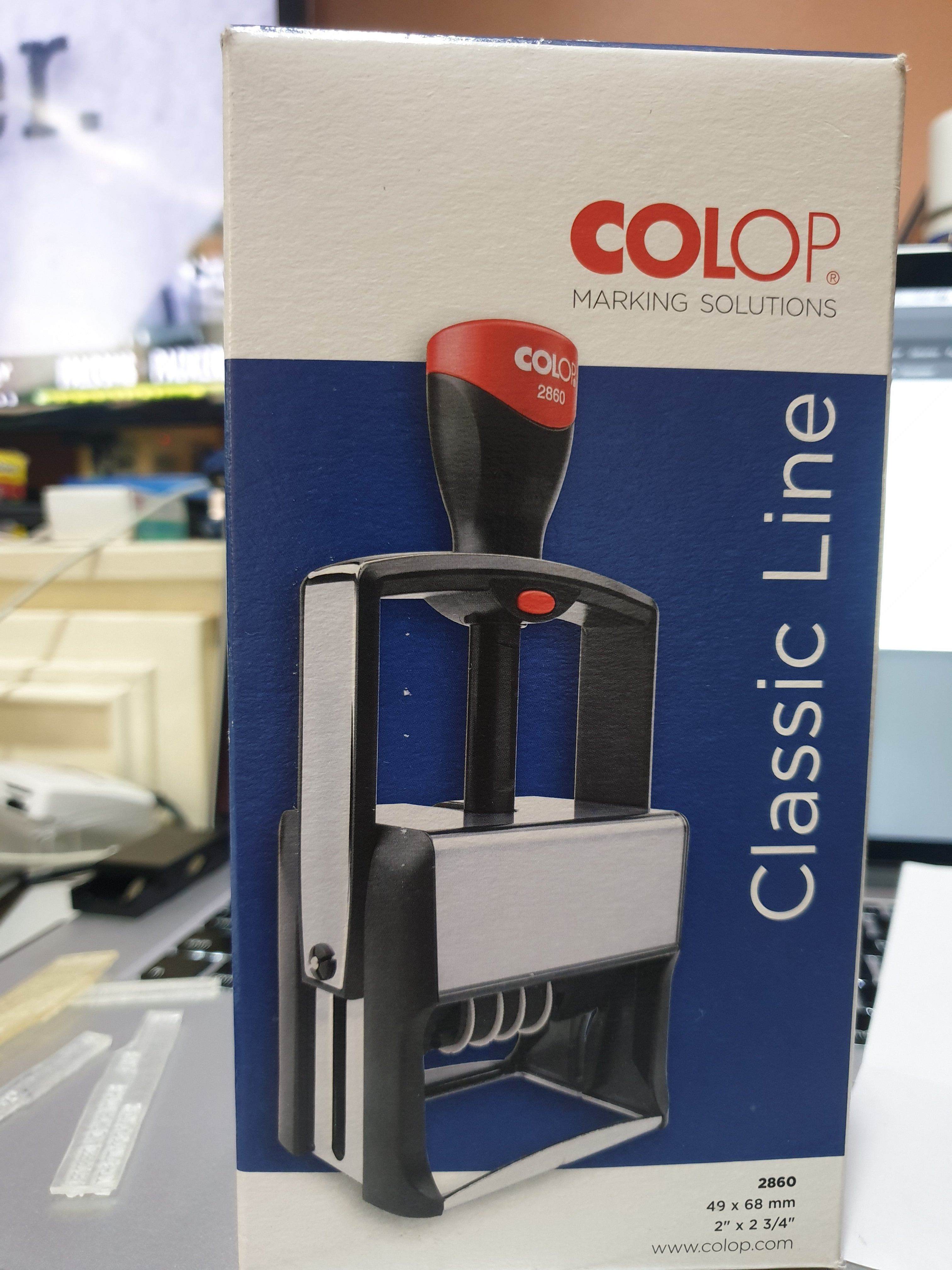 Colop 2800 Classic Line Self Inking Rubber Stamp