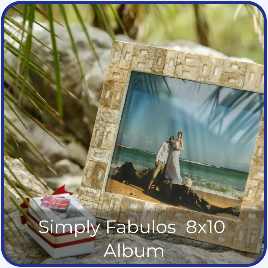 8X10 Album Simply Fabulous Photography [Wedding / Debut / Events]