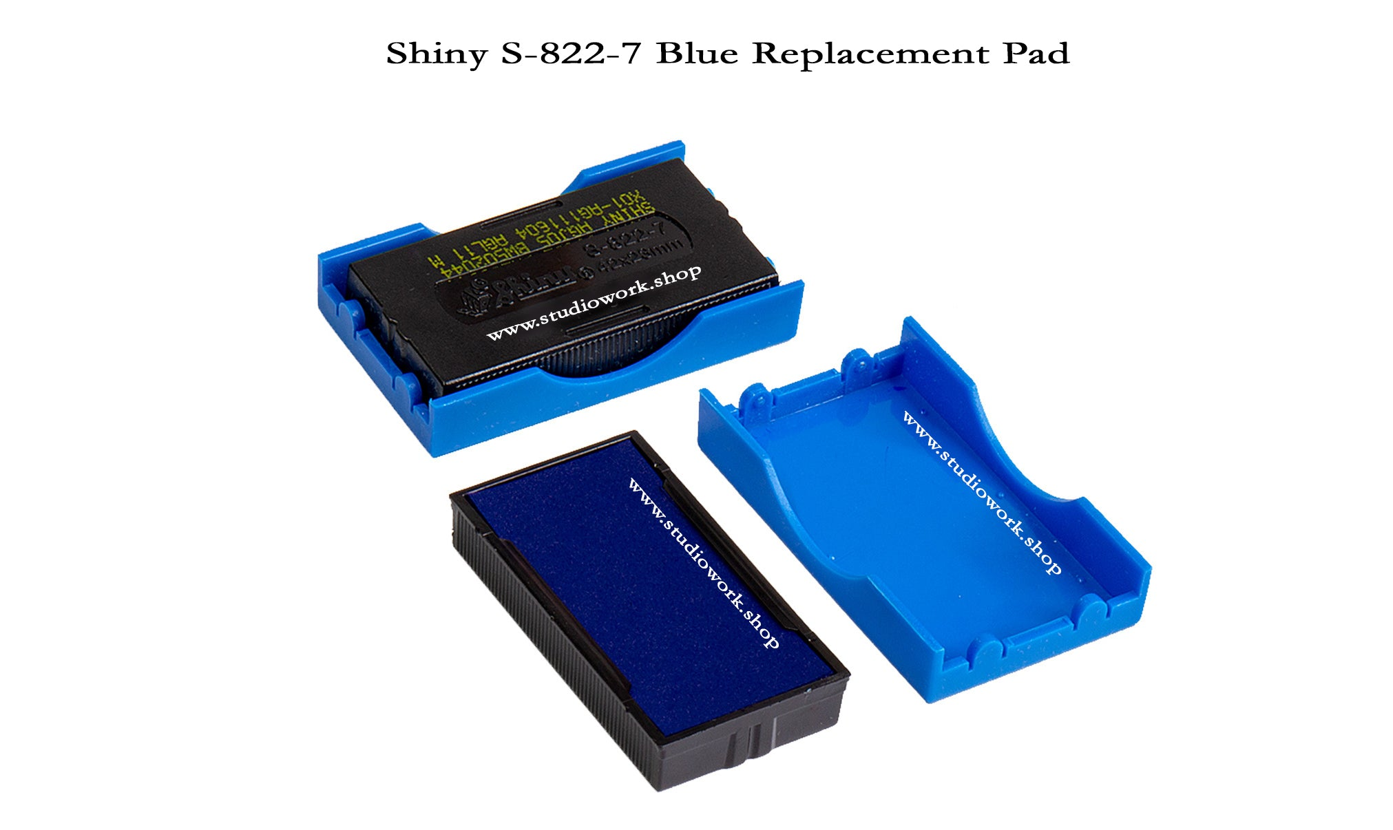 Shiny Rubber Stamp  Replacement Pad Only