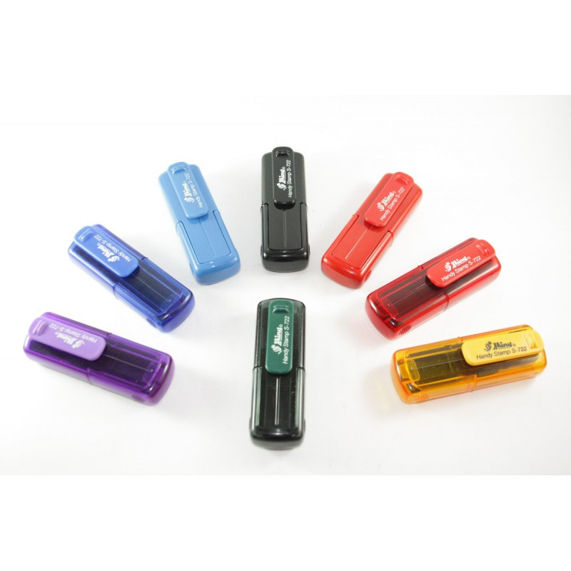 Shiny S-722 Printer Handy Self Inking Rubber Stamp
