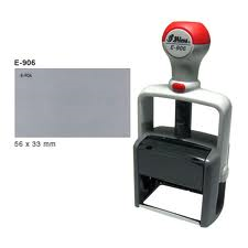 Shiny E-906  Essential Line Series Self-Inking Rubber Stamp