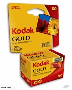 Expired Kodak Gold Color Print Film, 100 speed 35mm Film