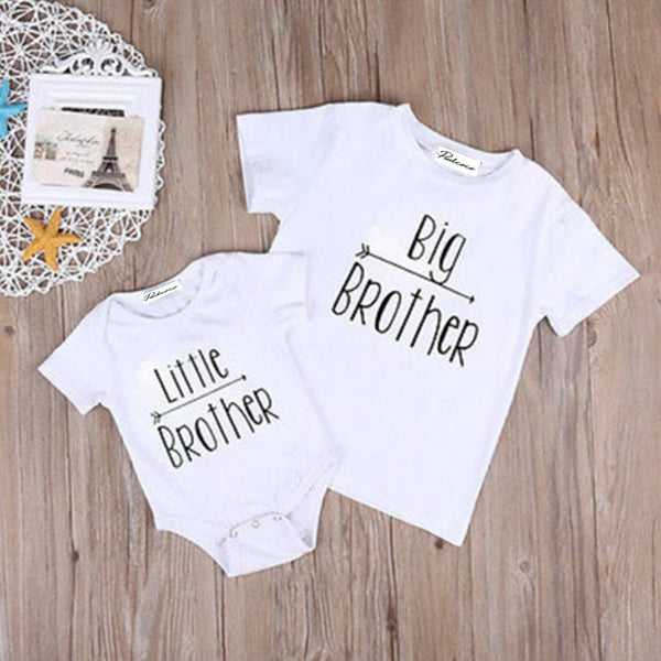 Big brother little brother matching T-shirts/ bodysuits