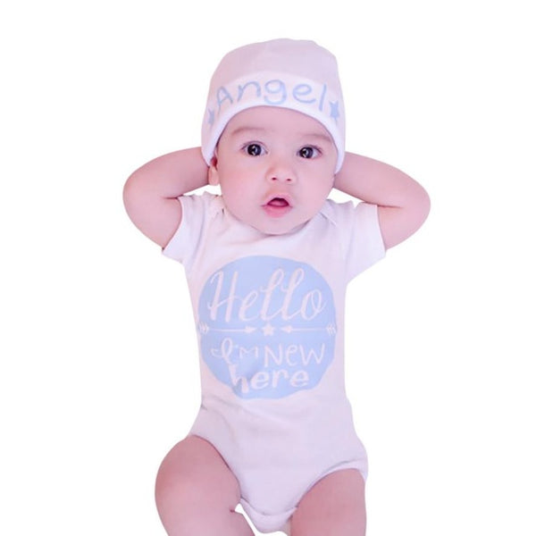 Hello I'm new here! baby bodysuits in pink or blue