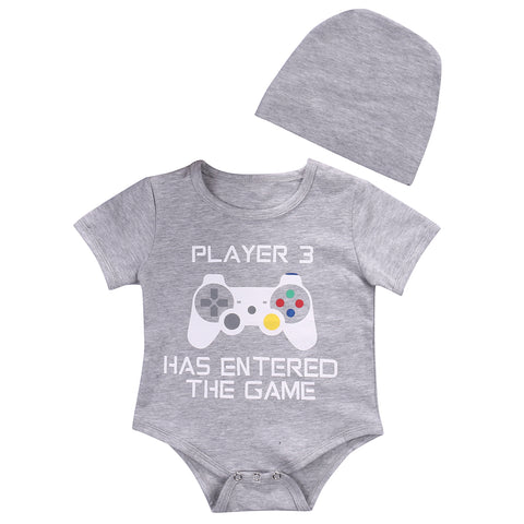 Player 3 has entered the game bodysuit & hat set