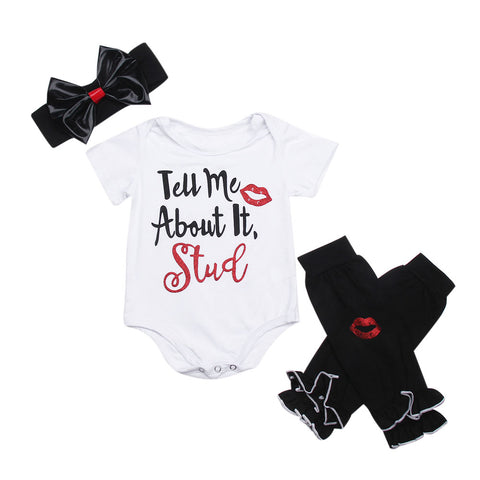 Tell me about it stud 'grease' 3 piece girls set