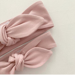 Blush Top Knot Headband