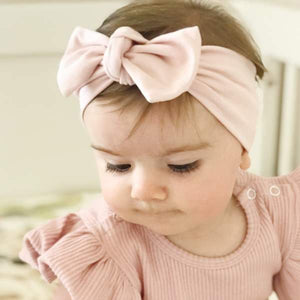 Blush Bow Knot Headband