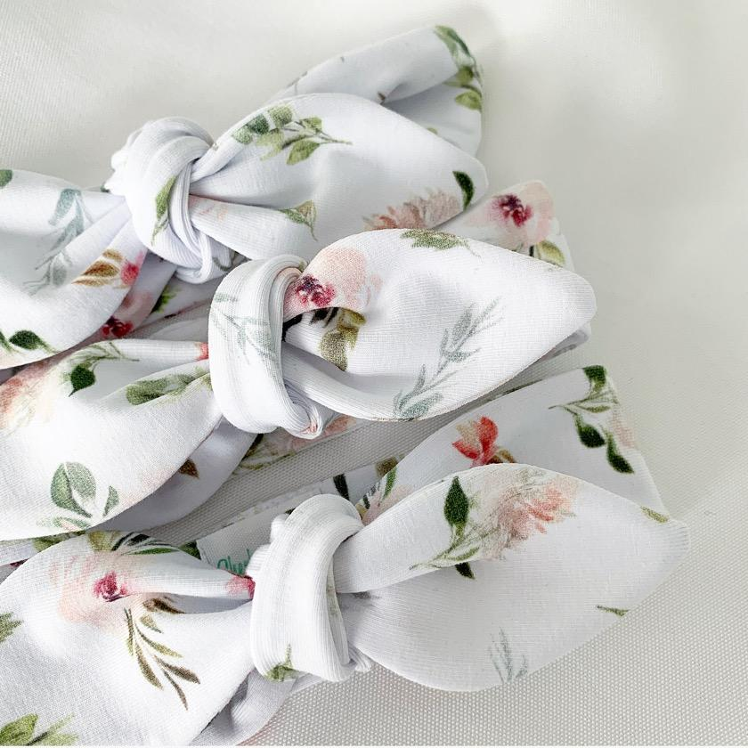 Vivienne Rose Top Knot Headband