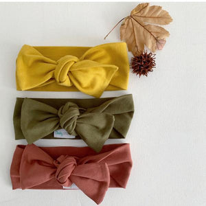 Rust Bow Knot Headband