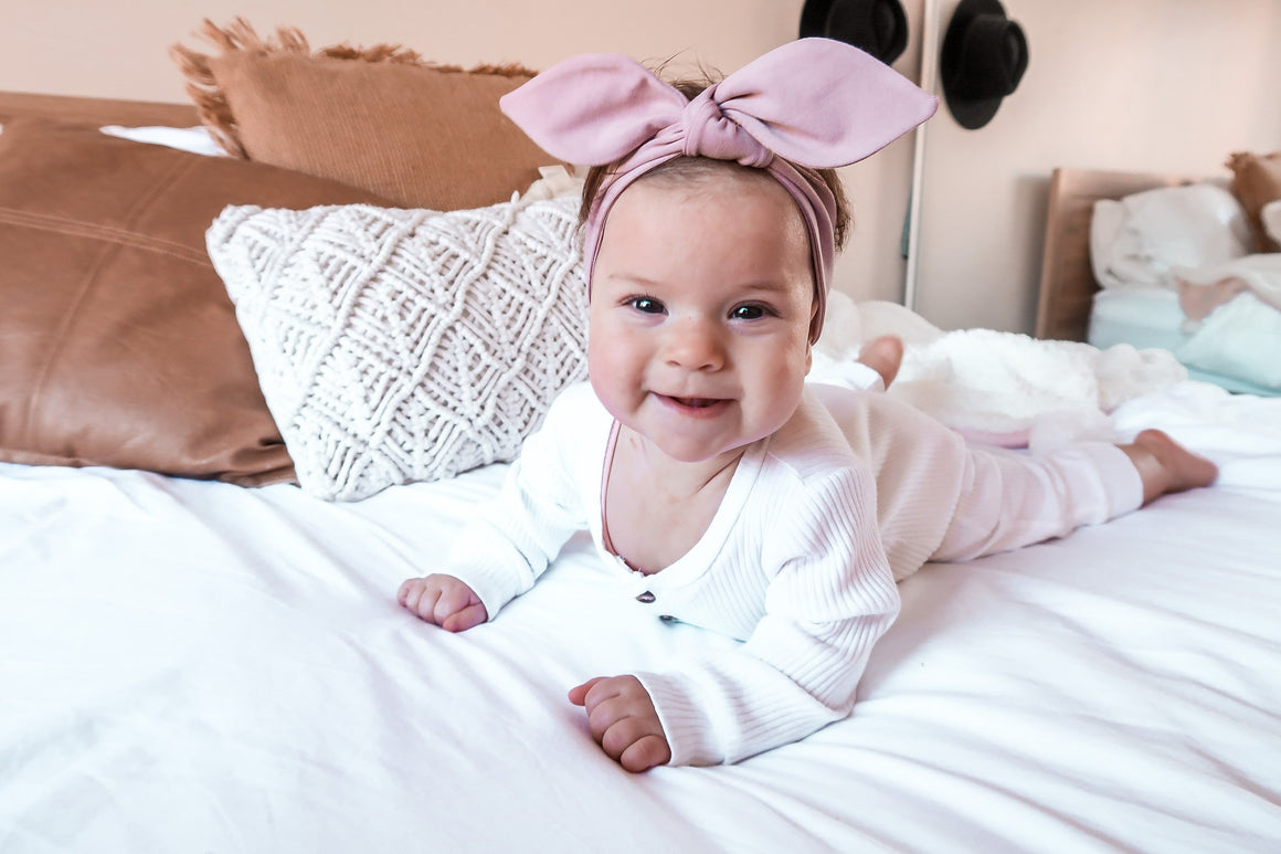 Taupe Top Knot Headband