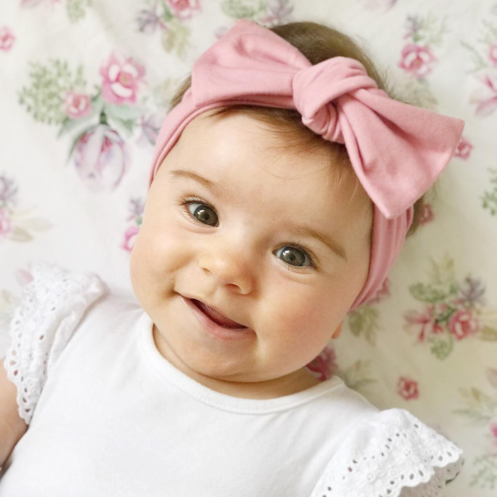 Rose Bow Knot Headband