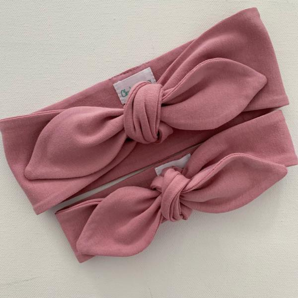 Rose Top Knot Headband