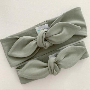 Sage Top Knot Headband