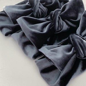 Winter Velvet Bow Knot Headband