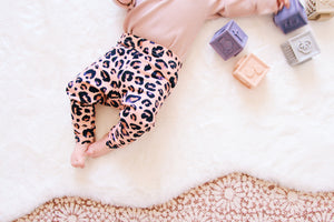 Blush Leopard Print Leggings