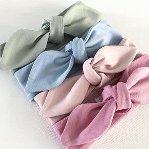 Limited Edition Pastel Top Knot Headbands