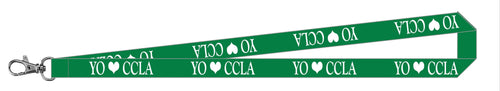 CCLA Lanyard - See Donna Prak or Office For Purchase