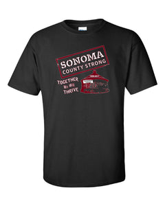 Sonoma County Strong T Shirts