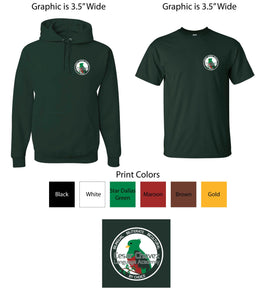 CCLA Youth Zip Up Hoodies