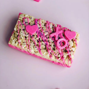 Valentine Chocolate Dipped Rice Krispie Treats - PreOrder Only