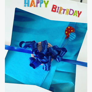 Birthday Box - Blue