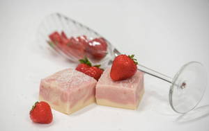 Strawberry Champagne Fudge - PreOrder Only