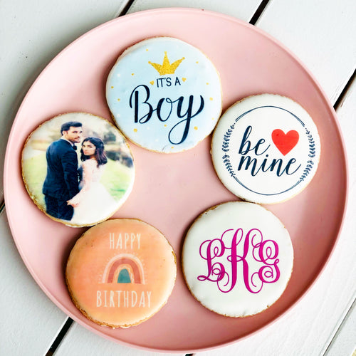 Custom Printed Sugar Cookies in Morton, IL - PreOrder Only