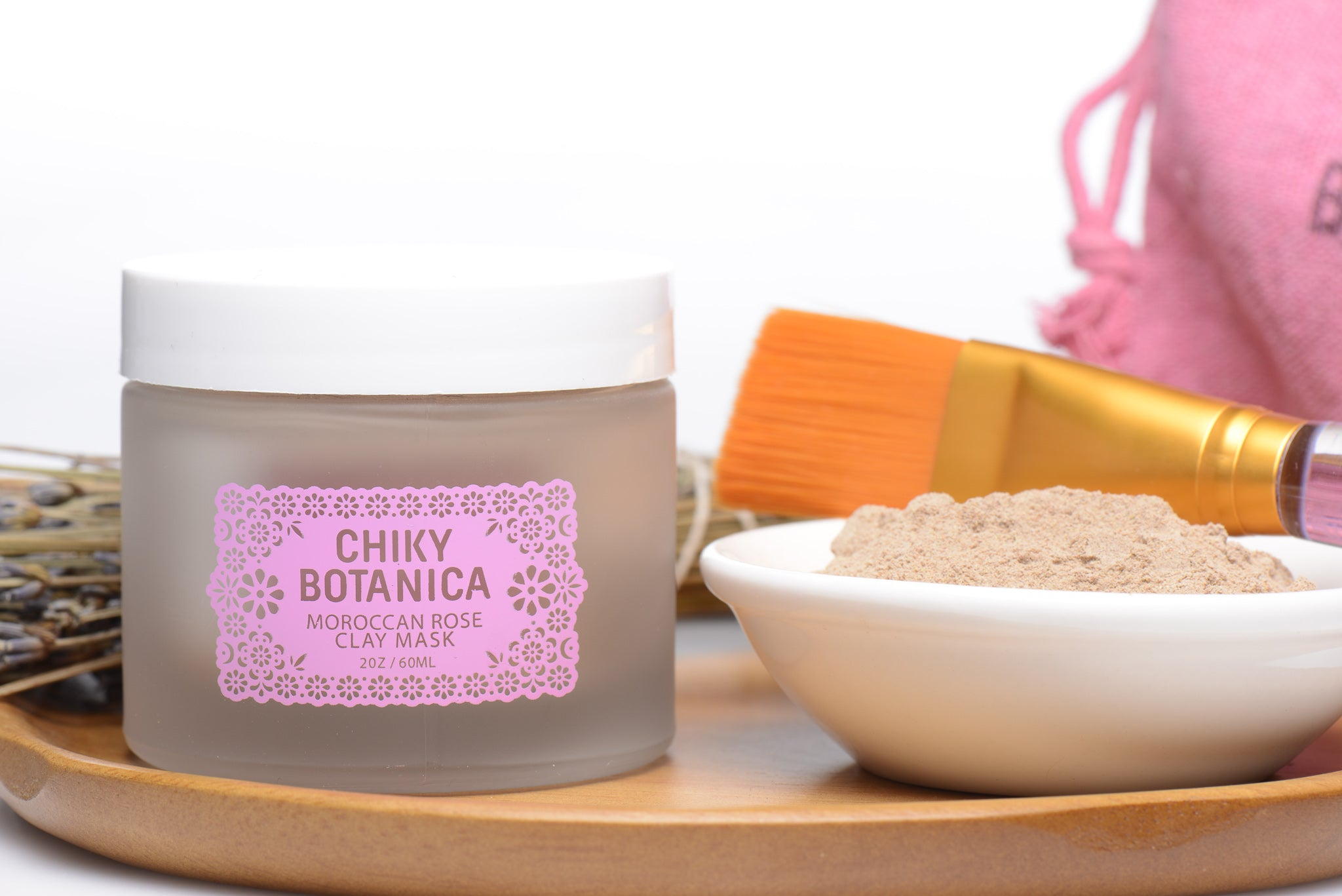 Moroccan Rose Clay Mask Kit