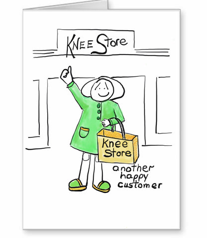 Knee Replacement Card